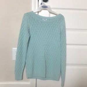 Women's mint sweater